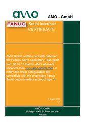 FANUC Zertifikat