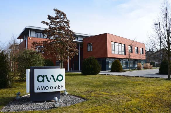 AMO Firmengebäude - Standort